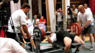 "Andrew Belyaev  ""Battle of Champions"" RAW Bench Press"