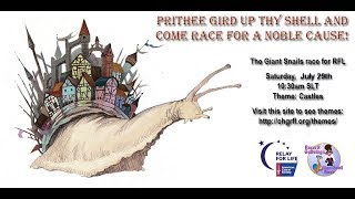 Giant snail race 480 17 July 29th RFL CHG CCR