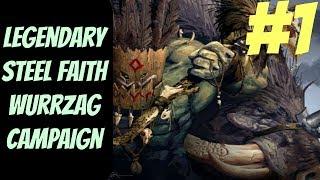 Legendary Steel Faith Wurrzag (Greenskins) #1 -- Total War: Warhammer 2