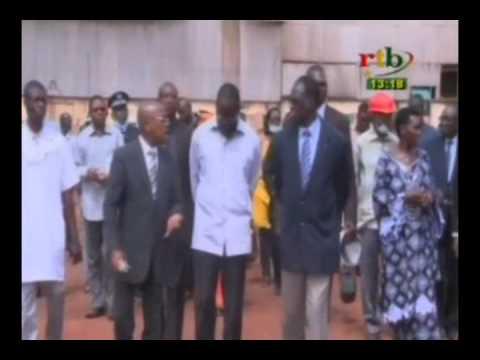 Le president du Faso a visitė deux entreprises industrielles dans la ville de Banfora