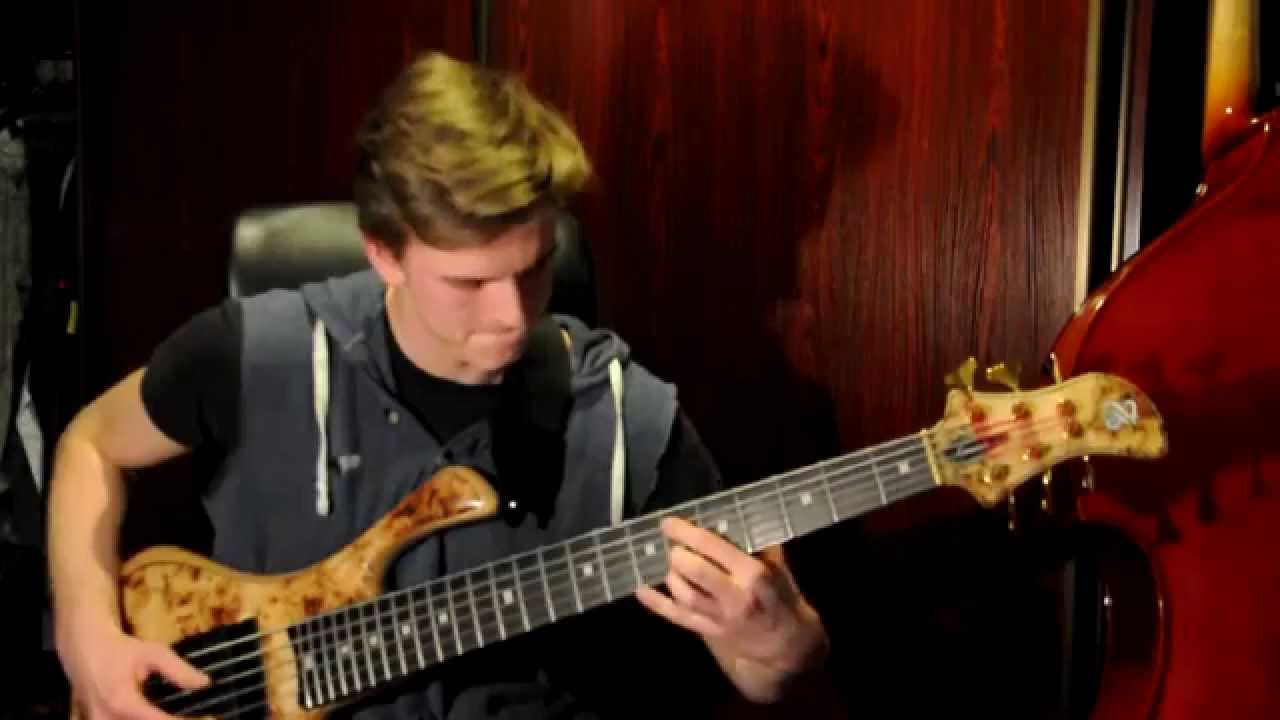 Hit me by dirty loops bass cover youtube
