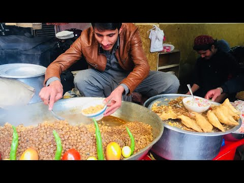 Samosa Chat ♡ Famous Samosa Chat In Chakwal ○ Pk Food