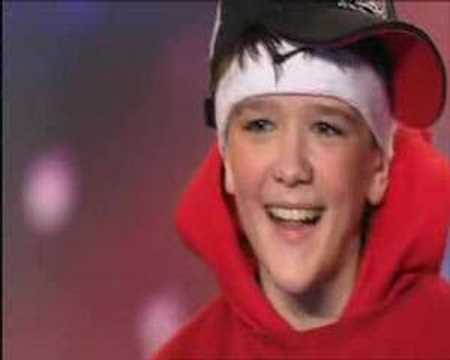 george sampson dancing. George Sampson 2007 Audition