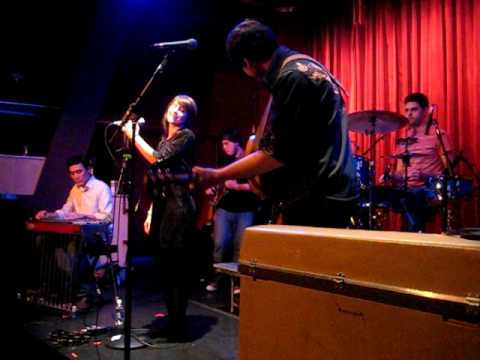 """Nini + Ben perform their songs """"You Don't Love Me"""" and """"Shine"""" live at Cafe 939's Red Room, Boston, MA on February 27, 2010. w/ Tommy Bohlen on pedal steel, Derek McWilliams on Bass, Jake Cohen..."""