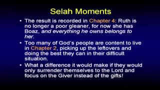 Selah Moments in the Book of Ruth - Chuck Missler