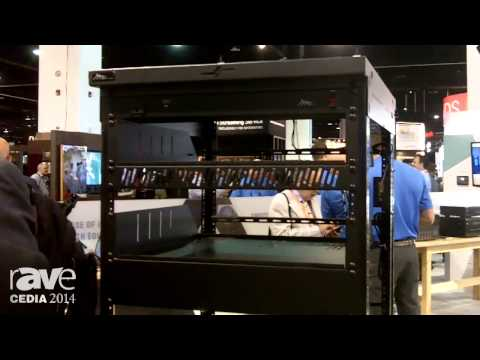 CEDIA 2014: Middle Atlantic Products Features QAR Series – Quick Assembly Rack