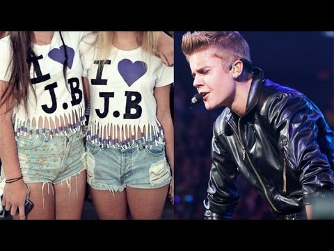 Justin Bieber throws up during concert video vomit