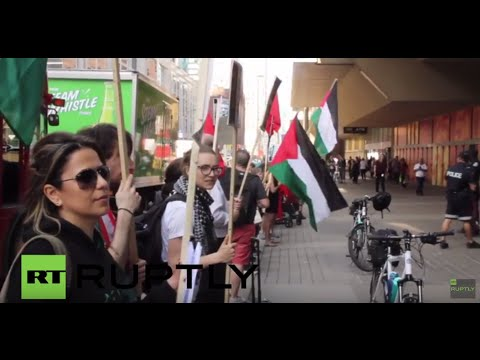 Canada: Pro-Palestine protesters denounce Kissinger, Peres at Toronto rally