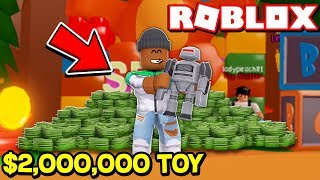 Buying the most EXPENSIVE TOY in the GAME!! | Roblox Toy Simulator