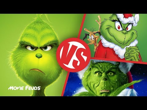 How The Grinch Stole Christmas! (1966) VS 2000 VS The Grinch (2018) : Movie Feuds
