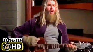 "AVENGERS: ENDGAME (2019) Fat Thor Sings ""Hurt"" [HD]"