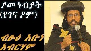 Ethiopan Ortodox Tewahido Betshu Abune Abreham Ethiopian Patriarch