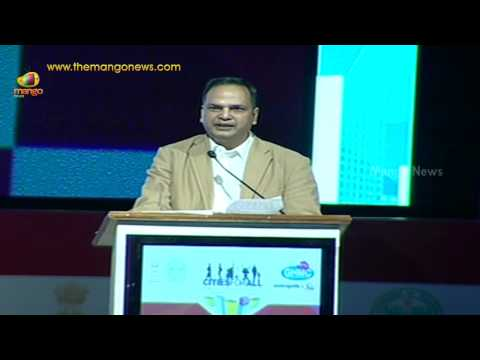 Metropolis World Congress : SK Joshi gives presentation on protecting environment