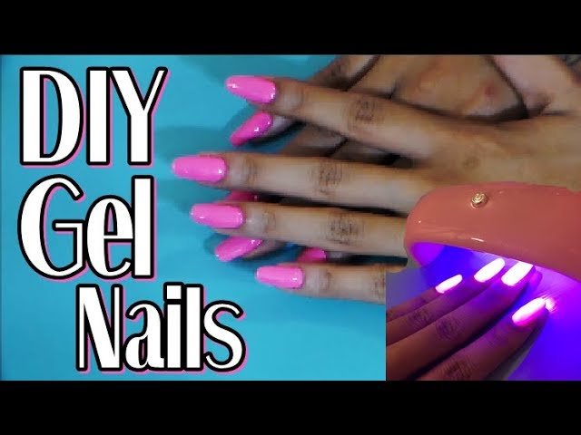 DIY Easy Gel Nails At Home Tutorial | Nail The Nail