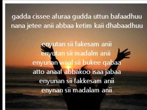 Alemuu Mokonin- Oromo Gospel Song video