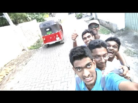 Five boys are going on a TVS Metro Bike in Sri Lanka - New Record