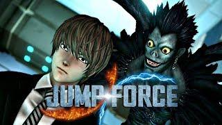 Jump Force - Tem até DEATH NOTE nesse jogo, uma LOUCURA