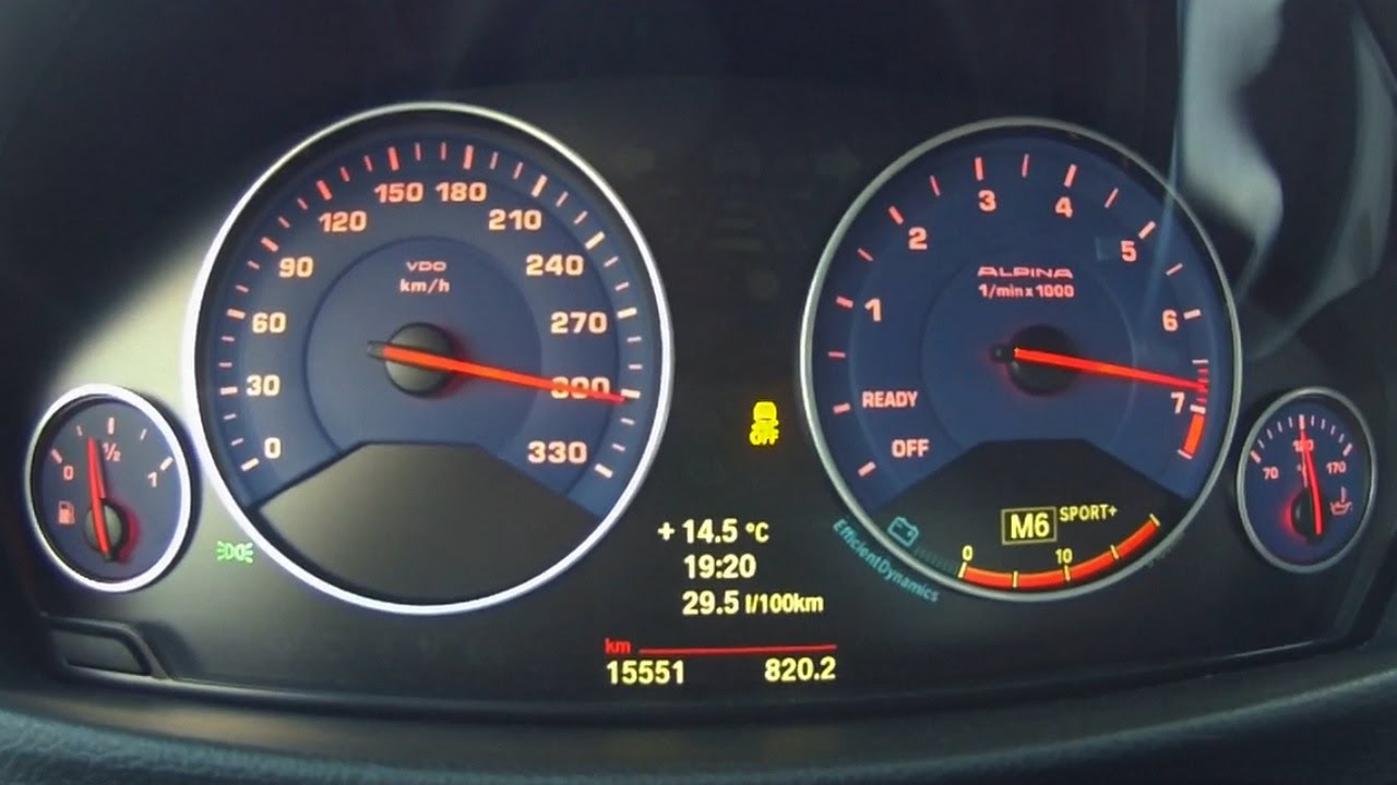 Alpina B3 Biturbo 2014 Acceleration 0 300 Km H Youtube