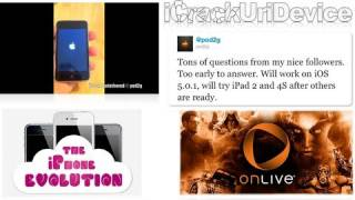 Untethered Jailbreak 5.0,5.0.1 By Pod2g, New Redsn0w Release, Onlive Mobile & More