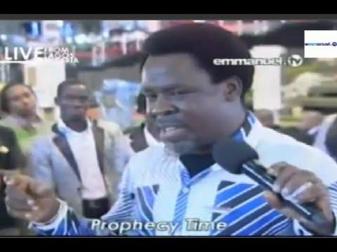 Scoan 26 10 14: Sunday Live prophecy Time With Tb Joshua. Emmanuel Tv video