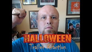 Halloween trailer reaction