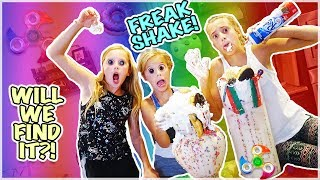 LOST A FIDGET SPINNER IN OUR ULTIMATE  FREAK SHAKE!!