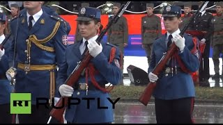 First military parade in decades: Serbia marks 70yrs since Soviets liberated it from Nazis Image