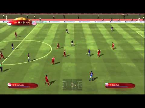 FIFA Digital World Cup 2014 Qualification: Singapore - Malaysia