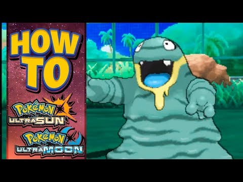 HOW TO GET Alolan Grimer in Pokemon Ultra Sun and Moon