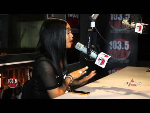 [EXCLUSIVE] Part 1: K.Foxx talks to Trina about new single, French Montana, and The Kardashians!