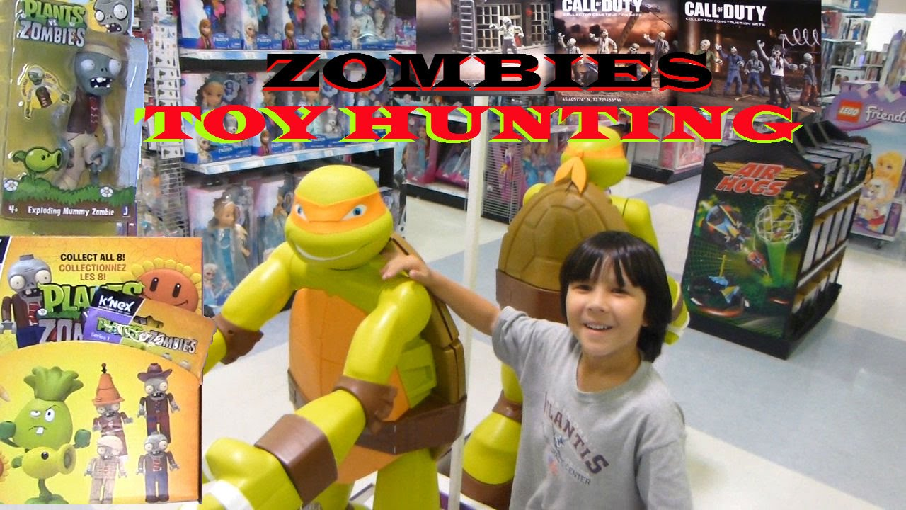 Zombies Toy Hunting At Walmart Amp Toys R Us Plants Vs