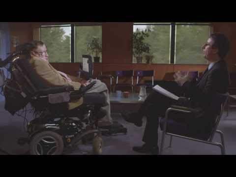 Last Week Tonight with John Oliver: Stephen Hawking Extended Interview (HBO)