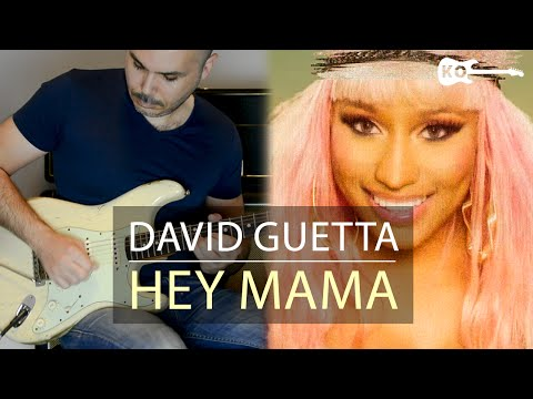 David Guetta ft Nicki Minaj - Hey Mama - Electric Guitar Cover by Kfir Ochaion