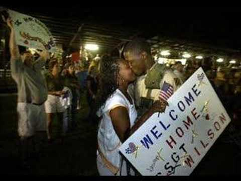 Tribute to US soldiers in war: Come Back Home: safe and soon