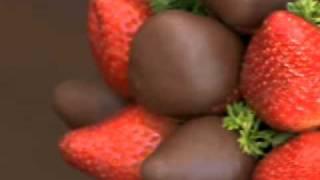 Arreglos de chocolate y frutas para regalar