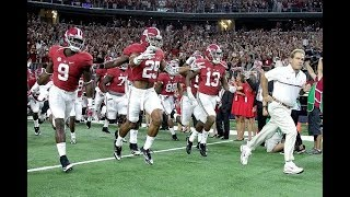Alabama Football Hype Video 2017 | It