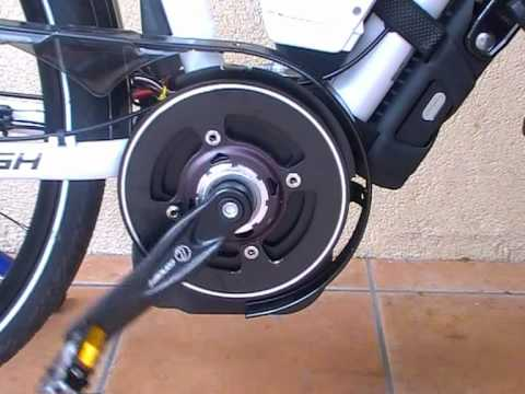 BOSCH E-Bike Dive Unit DU45 350W Sounds, moving at Non Pedal Mode