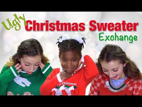 Tacky Christmas Sweater Exchange | Brooklyn and Bailey