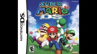 Super Mario 64 DS Livestream Final Part Mingamestalgia