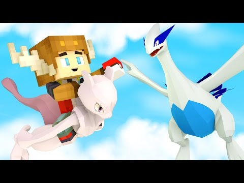 CATCHING LUGIA IN POKEMON GO! (Minecraft Roleplay)