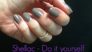 ♥ Shellac - Selbst gemacht | Do it yourself