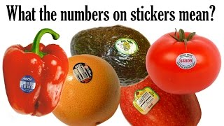 What does the number on your fruit and veggie sticker mean?