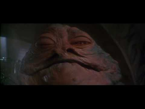 Jabba s Laugh  Jabba The Hutt Eating Gif