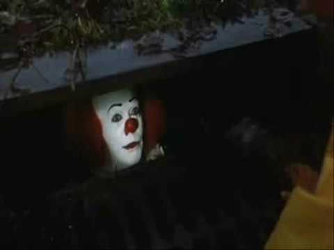 Georgie's death in the cult movie and book by Stephen King. -Don't you want a baloon? o.O xD -When you're down here with me,George-you float too! :O.