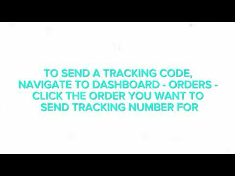 How To Sent Tracking Codes To Customers - Forstep Style Online Fashion Marketplace