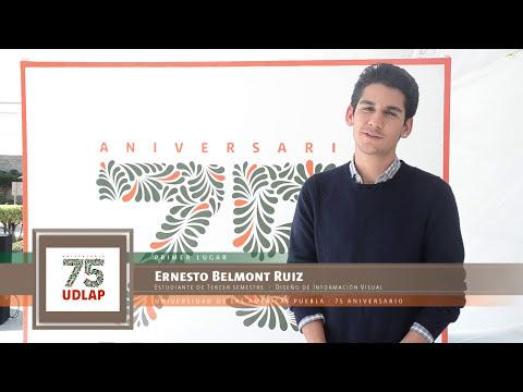 Logotipos finalistas para conmemorar el 75 Aniversario de l UDLAP
