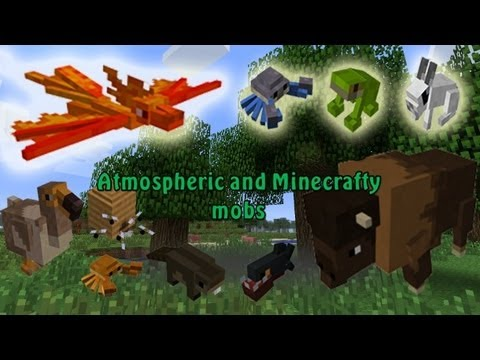 MineCraft 1.6 Snapshot 13w17a Pet Bunnies. Squirrels. Mice. Crabs!