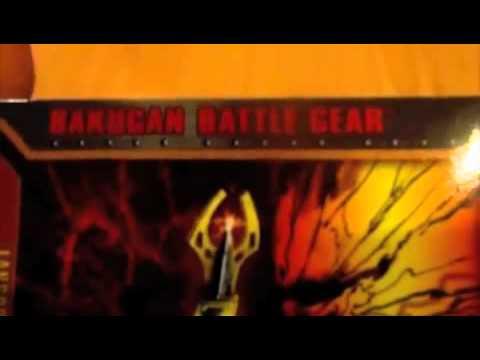 Bakugan battle gear gold lansor