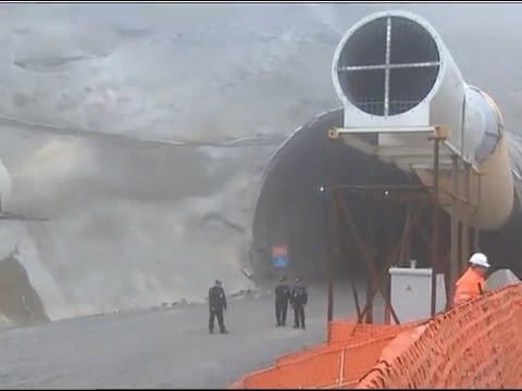 Türkiyenin En Uzun Tüneli Rize'deki Ovit Tüneli