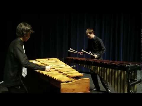 0 Paganini   Liszt Etude No. 3 La Campanella arranged for Marimba Duet by Michael Jopling